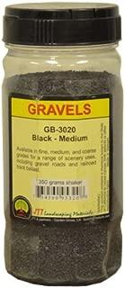 JTT Scenery Products Ballast and Gravel, Black, Medium