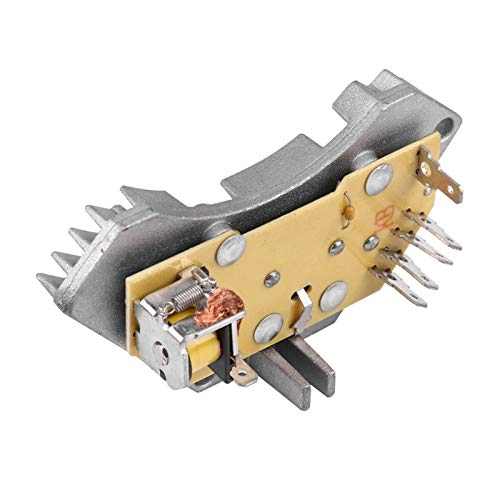Lyjun Calentador Blower Motor Resistor Fit para Peugeot Fit para Citroen Fit para Berlinyo Fit para Xantia Fit para Xsara 644178 Aluminio + ABS Accesorios para automóviles