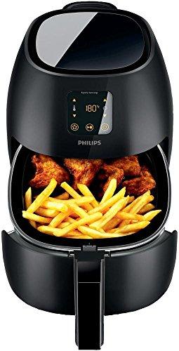 Philips Airfryer XL, Heißluftfritteuse (ohne Öl, für 3-4 Personen) schwarz HD9240/90