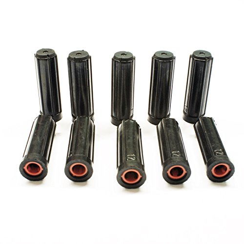 Stabilo-Sanitaer 10x Schallschutzdübel 10mm M5 Gummidübel ohne Bund Kragen Schalldämmung Schallschutz Dübel