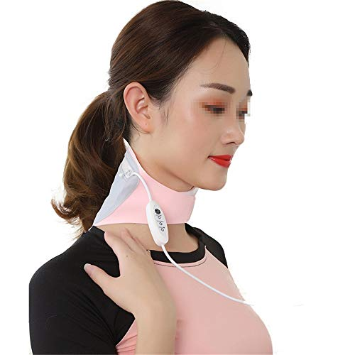 Almohadilla eléctrica Cervical Calefacción por infrarrojos apoyo de cuello del abrigo de...