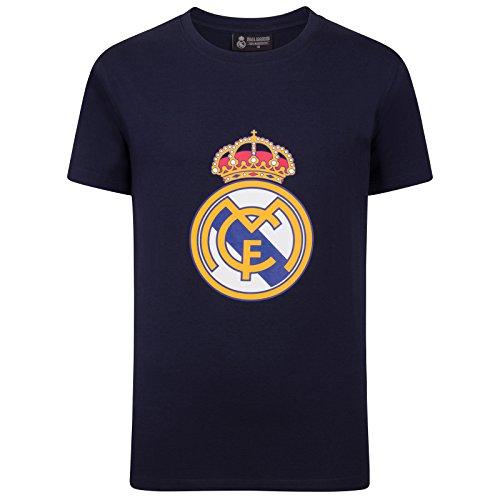 Real Madrid Camiseta Oficial Para Niños - con el Escudo del Club...