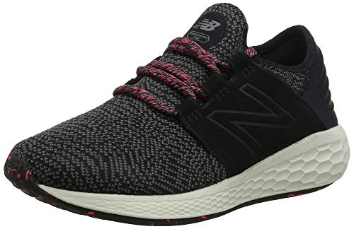 New Balance Damen Fresh Foam Cruz v2 Silent Rave Pack Sneaker, Schwarz (Black/Mineral Green/Guava Dm2), 41.5 EU