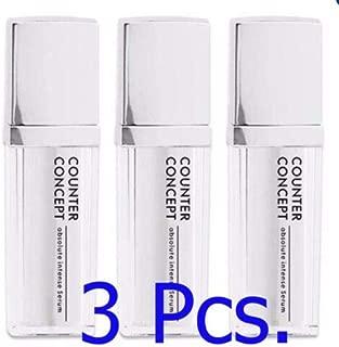 3x Counter Concept Absolute Intense Serum 30 ml. Serious Gold Serum Overnight