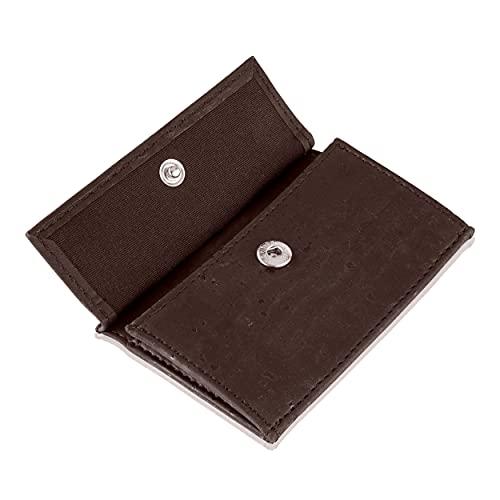 Coin Pocket Münztasche für ZNAP Slim Wallet – Platz für bis zu 10 Münzen – Inklusive RFID Shield Blocker – Kleingeldfach, Münzgeldfach, Münzfach, Coin Case zum Einschieben von Slimpuro