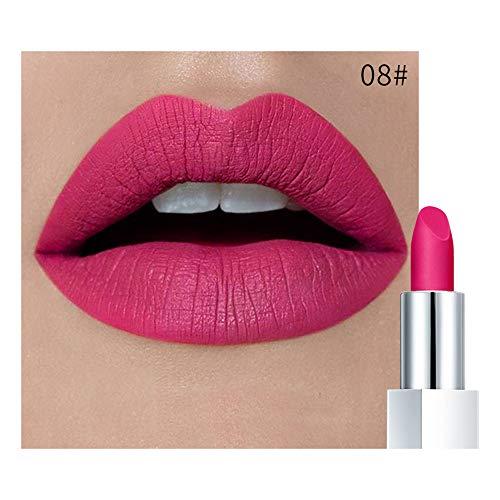 Janly Clearance Sale Lipstick, Waterproof Lipstick Matte Pumpkin Color Lipstick Eat Earth Rich Vitamin E Moistu, Health and Beauty (H)