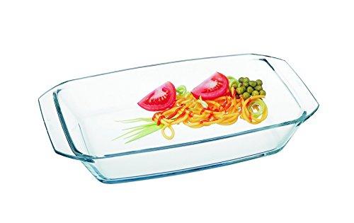 SIMAX Koch und Backschale, Glas, Transparent, 26 x 17 x 9.3 cm