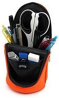 Sma Sta 智能立式手机壳适用于钢笔电话化妆品 橙色