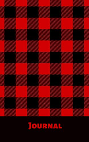 Journal: Buffalo plaid; 100 sheets/200 pages; 5