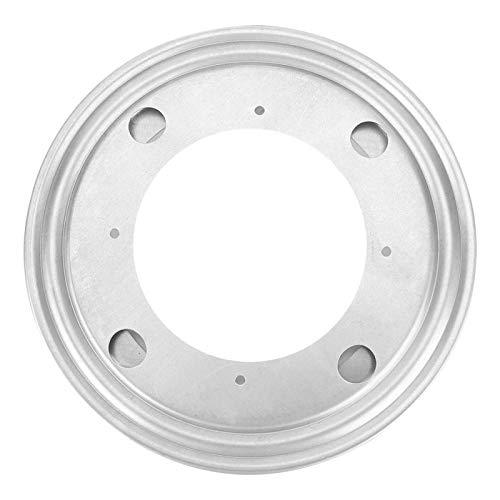Herrajes para placas Placa giratoria resistente a la corrosión Placa giratoria con cojinete sólido Placa giratoria Mesa(8 inch galvanized round turntable)