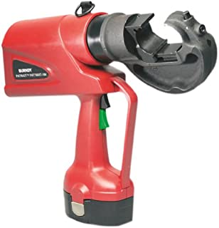 Burndy PAT750XT-18V Patriot High-Performance Battery Actuated Hydraulic Self-Contained Crimping Tool, 12 Ton Crimp Force, 3.5