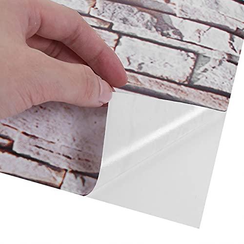 Gedourain Pegatina Decorativa, Pegatinas Autoadhesivas Patrón de Roca simulada de fácil extracción para decoración del hogar para escaleras
