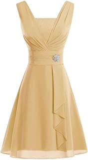 Women Dress QUINTRA Mother of Bride Dress Knee Length Plus Size Dress Elegant Sleeveless Mini Dress