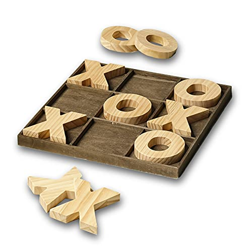 LTD Table Top Tic-Tac-Toe Board Game with Jumbo Pieces - 11 Pieces