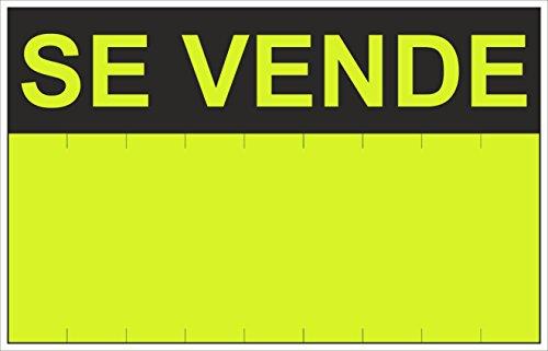 Normaluz RD51200 - Cartel Se Vende PVC Glasspack 0,4 mm 45x70 cm