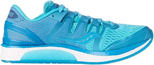 Saucony Women's Liberty Iso Stabilitätsschuh Damen - Blau, Hellblau Running Stability Shoe, Blue, 4.5 UK