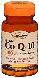 Sundown Naturals Dietary Supplement Co Q-10 100mg - 40 Softgels