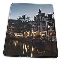 マウスパッド ゲーミングマウスパット アムステルダム通り デスクマット 超大判 高級感 おしゃれ 耐久性が良い 滑り止めゴム底 ゲーミングなど適用 マウスの精密度を上がる 防水設計 複数サイズ