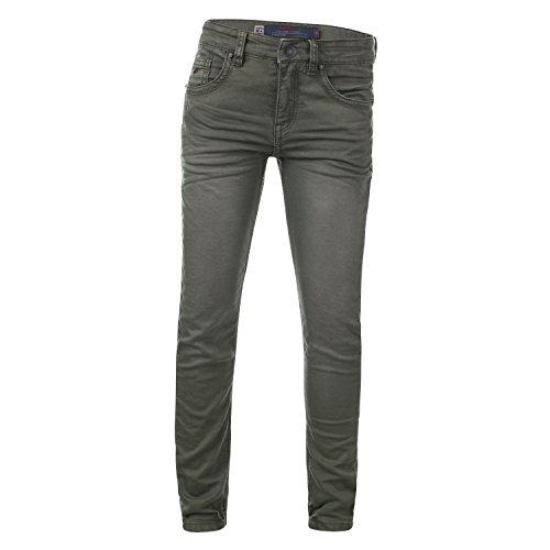 Blue Rebel | Jungen Stretch-Jeans Groove Comfy Slim Fit Army Größe 122