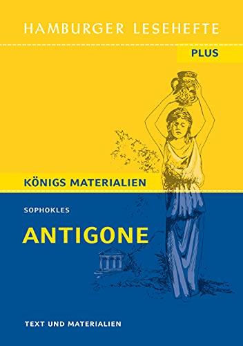 Antigone: Hamburger Lesehefte Plus Königs Materialien