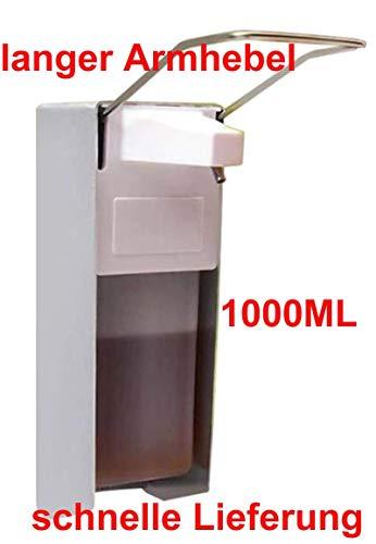 Bene K28-293A Desinfektionsspender Seifenspender, mit langem Armhebel, Matt (1000ml-2l), Benefit GmbH