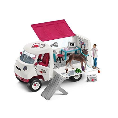 Schleich 42370 - Mobile Tierärztin mit Hannoveraner Fohlen