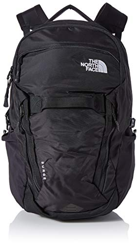 THE NORTH FACE Rucksack Surge Rucksack, Tnf Black, OS, T93ETV