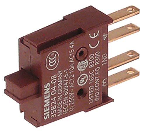 Bloque de contacto con interruptor modular para uso con 3SB2