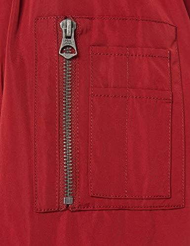 Pepe Jeans Andy Chaqueta acolchada, Rojo (Merlot 297), Large para Hombre