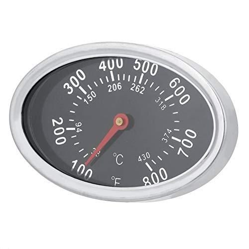 Termómetro para Parrilla ahumador de Barbacoa de Acero Inoxidable, medidor de Temperatura de 430 ℃, Herramienta útil para Barbacoa de Cocina para Exteriores