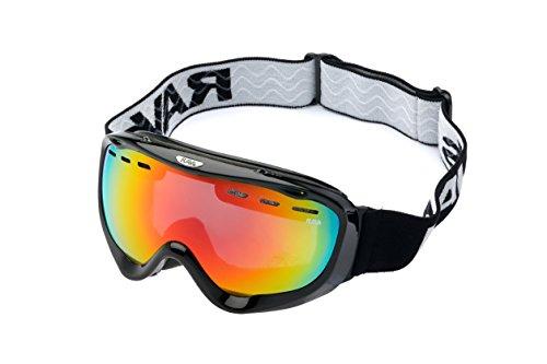 Ravs Skibrille Schneebrille Snowboardbrille Schutzbrille Antibeschlag Helmkompatibel