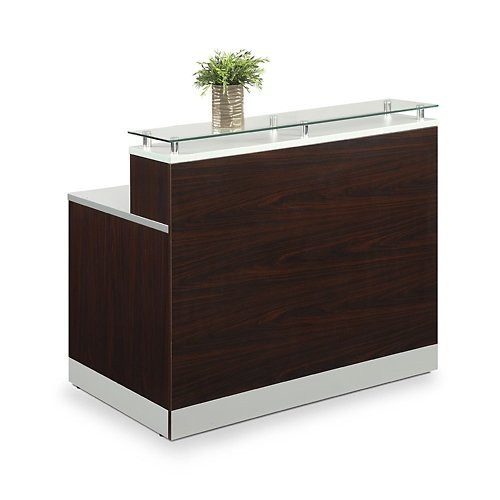 Remarkable Small Reception Desk Amazon Com Beutiful Home Inspiration Aditmahrainfo