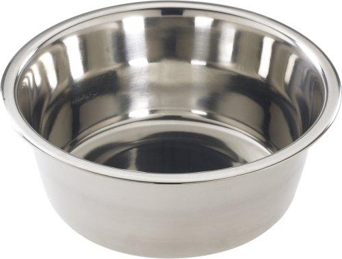 SPOT Mirror Finish Bowl | Stainless Steel | Pet Dish | Pet Dish For Dogs | Pet Dish For Cats | 5 Quart | By Ethical Pet (6065)