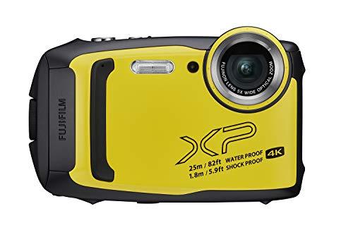 Fujifilm FinePix XP140 Waterproof Digital Camera w/16GB SD Card - Yellow