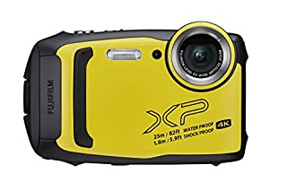 Fujifilm FinePix XP140 Waterproof Digital Camera w/16GB SD Card - Yellow (B07NJR4LV5) | Amazon price tracker / tracking, Amazon price history charts, Amazon price watches, Amazon price drop alerts