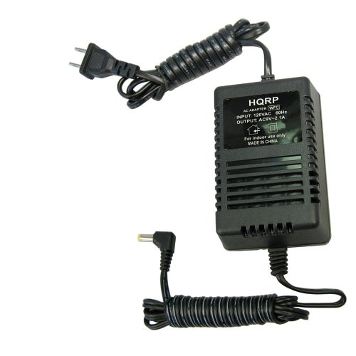 HQRP 9-Volt AC Adapter Compatible with Line 6 PX-2 PX-2g Stompbox Modelers (DL4, MM4, DM4, AM4, FM4), M9, M13, POD Series, POD XT Series, POD X3 Series 98-030-0042-05 Power Supply Cord Line6
