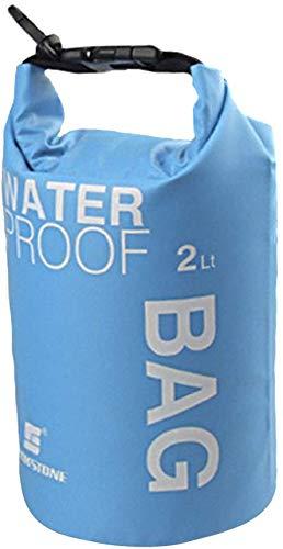 Wasserdichte Tasche für Camping, Bootfahren, Kajakfahren, Angeln, Rafting, Kanufahren, 5 l, Blau