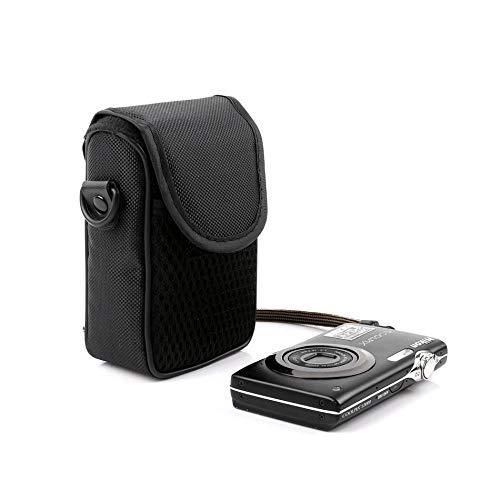 Kameratasche Schulter Digitalkamera Tasche für Canon Ixus 400 980 990 285 265 245 240 230 220 190 185 182 180 177 175 170 162 160 132 130, Größe M