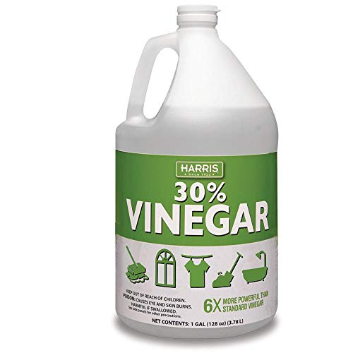 30% Pure Vinegar, Extra Strength by Harris with Trigger Sprayer Included (Gallon)