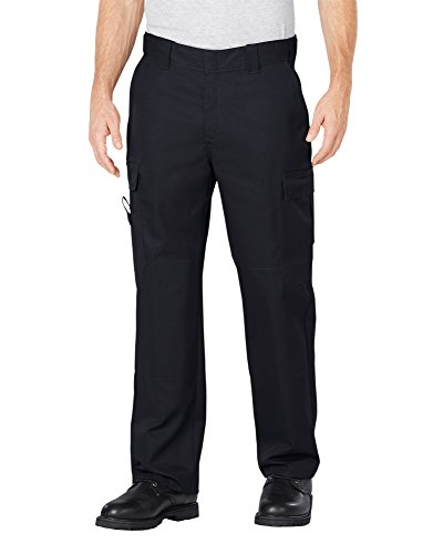 Dickies Men's Flex Comfort Waist EMT Pant, Black, 40 32