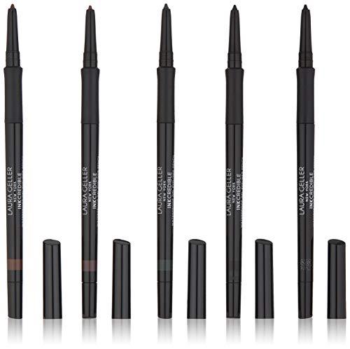 LAURA GELLER NEW YORK Inkcredible Waterproof Gel Eyeliner Pencils 5 Piece Full Size Collection