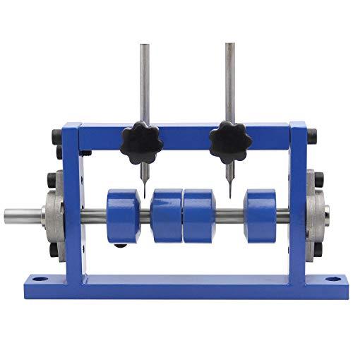 Mxmoonant Abisoliermaschine für φ1-25mm Kabel, Abisolierwerkzeug, Bohrer anschließbar, mit 1 Ersatzklinge für das Recycling von Kupferschrott (2 Messer)