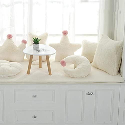 Cojín de Suelo Super cómodo - Almohadilla de Ventanas de la bahía Antideslizante Espesada/Alfombrilla de Ventana/Sofá Mat/cojín del sofá, Adecuado para la decoración de sofá de Tatami Interior D
