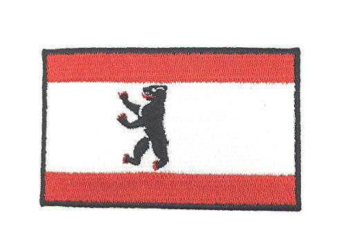 Gemelolandia Parche Bordado Termoadhesivo Bandera