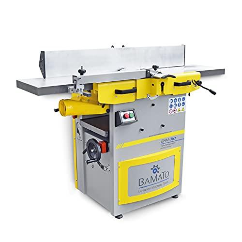 BAMATO Abricht- und Dickenhobelmaschine/BHM-310 (400V) - Messerwelle mit 3 HSS-Hobelmessern - 300mm Hobelbreite