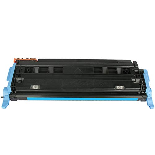 XCCV Cartuccia Toner Q600A 124A Q6001A Q6002A Q6003A Compatibile con HP Color Laserjet 1600 2600 2605 2605 CM1015 CM1017 Stampante con Chip-Cyan