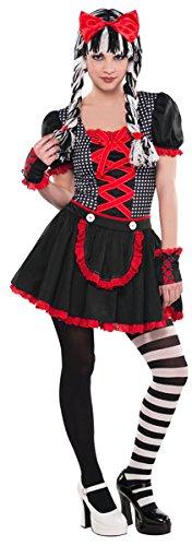 Christy 's Gothic Doll Teen kostuum (S)