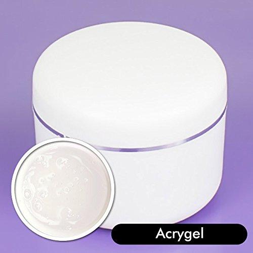 Acrygel transparente 15gr UV/LED - Acril + Gel - 2 en 1 - Clear - Producto extra-resistente - El mejor gel constructor - Blucc Style