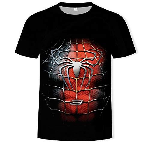 Sommer cool 3D gedruckt Rundhalsausschnitt Kurzarm Herren T-Shirt
