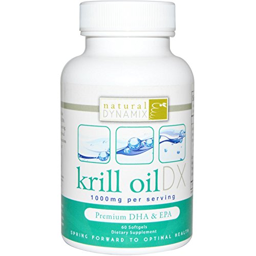 Natural Dynamix Krill Oil DX - 60 Softgels -pack of 1